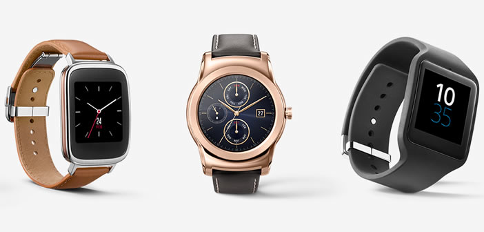Android Wear, Jam Tangan Pintar Android